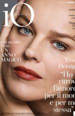 EVA HERZIGOVA in Io Donna Del Corriere Della Sera, December 2019