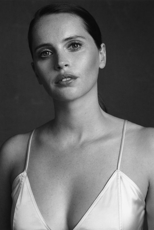FELICITY JONES for Edit by net-a-porter, November 2019