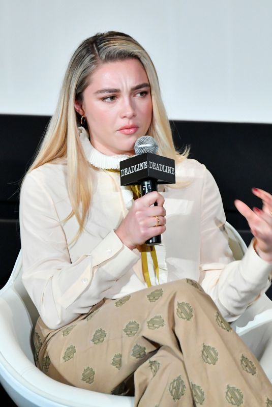FLORENCE PUGH at Deadline Contenders at DGA Theater in New York 12/07/2019