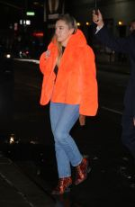 FLORENCE PUGH Night Out in New York 12/10/2019