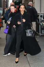 FRANCESCA HAYWARD Leaves The Cats Press Junket in New York 12/16/2019