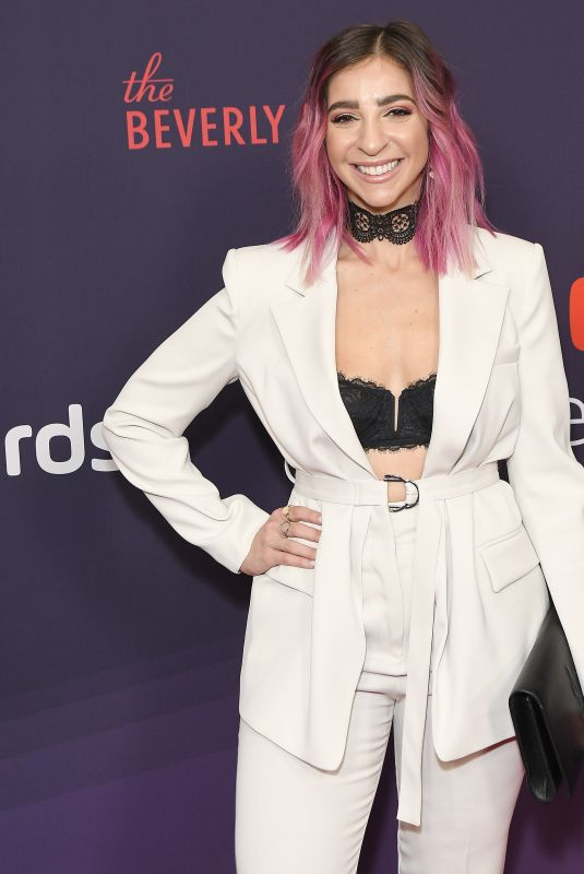 GABBIE HANNA at 9th Annual Streamy Awards in Beverly Hills 12/13/2019