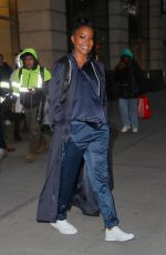 GABRIELLE UNION Leaves The New York & Company Office in New York 12/16/2019