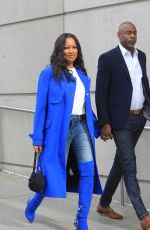 GARCELLE BEAUVAIS Arrives at LA Lakers Game in Los Angeles 12/01/2019