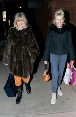GOLDIE HAWN Out and About in Aspen 12/19/2019