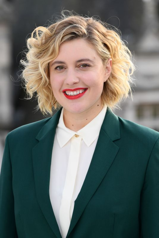 GRETA GERWIG at Little Women Photocall at Corinthia Hotel in London 12/16/2019