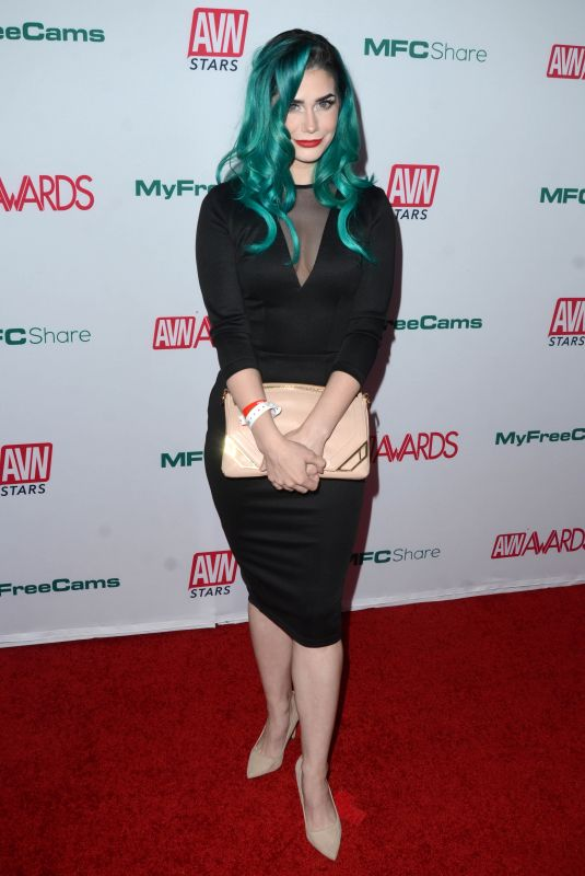 HACKERGIRL at AVN Awards Nominations Announcement in Hollywood 11/21/2019