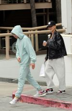 HAILEY and Justin BIEBER Out for Lunch in Los Angeles 11/30/2019