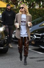 HAILEY BIEBER Out for Coffee in Beverly Hills 12/05/2019