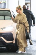 HAILEY BIEBER Out in Los Angeles 12/06/2019