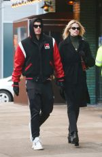 HAILEY CLAUSON and Julian Herrera Out in New York 12/14/2019