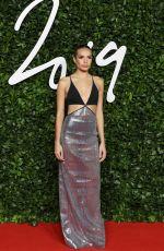 HANA CROSS at Fashion Awards 2019 in London 12/02/2019