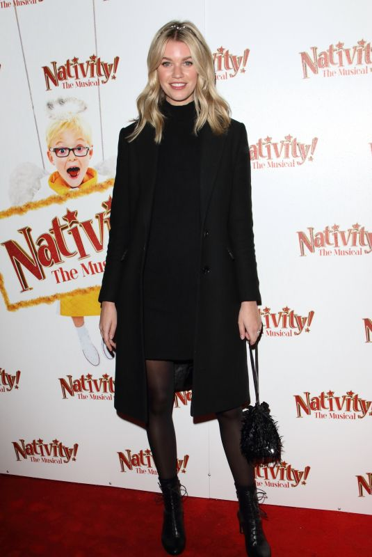 HANNAH COOPER at Nativity! The Musical Press Night Performance in London 12/12/2019
