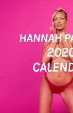 HANNAH PALMER - 2020 Calendar
