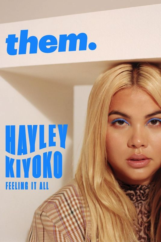HAYLEY KIYOKO for  them. Magazine, 2019