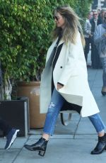 HEIDI KLUM Out for Dinner at E. Baldi in Beverly Hills 12/12/2019