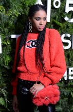 HERIZEN GUARDIOLA at Chanel No. 5 In the Snow Party in New york 12/10/2019