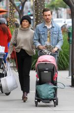 HILARY DUFF Out and About in Beverly Hills 11/30/2019