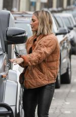 HILARY DUFF Out and About in Studio City 12/10/2019