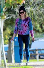 HILARY DUFF Out at a Park in Los Angeles 12/05/2019