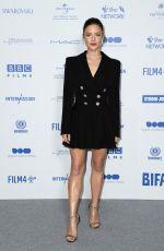 HOLLIDAY GRAINGER at British Independent Film Awards 2019 in London 12/01/2019