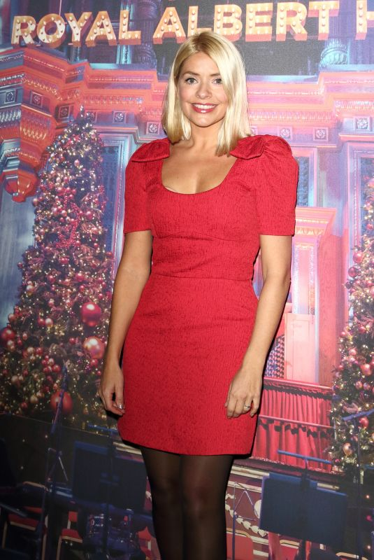 HOLLY WILLOGHBY at Emma Bunton