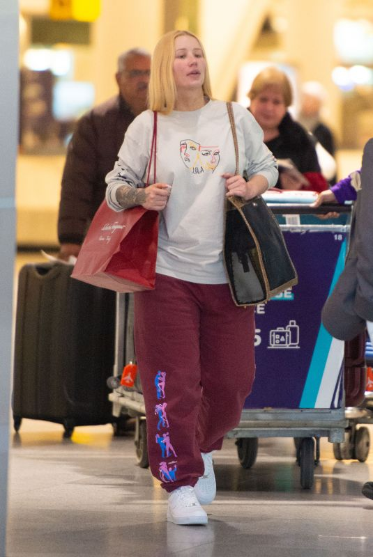 IGGY AZALEA at JFK Airport in New York 12/25/2019