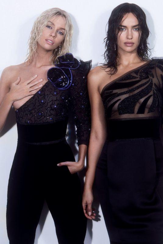 IRINA SHAYK and STELLA MAXWELL in Vogue Magazine, Russia December 2019