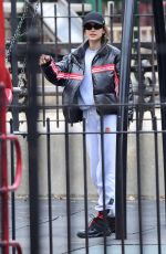 IRINA SHAYK Out and About in New Jersey 12/26/2019
