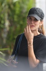 IZABEL GOULART in Shorts Out Shopping in Saint Barth 12/27/2019