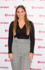 JACQUELINE JOSSA at Lorraine Show in London 12/16/2019