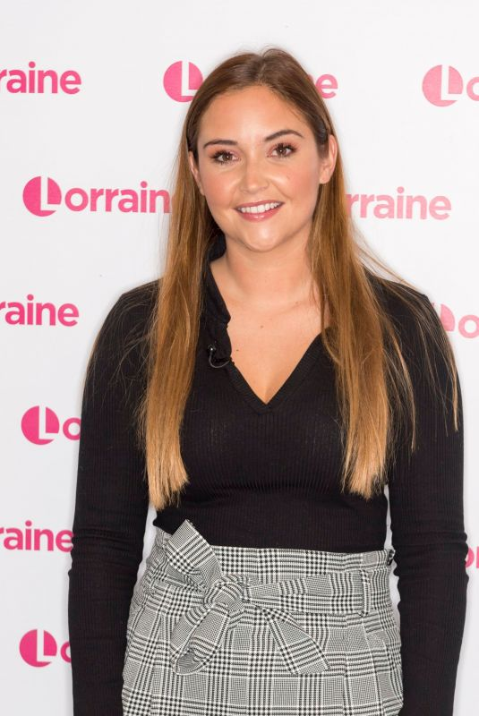 JACQUELINE JOSSA at Lorraine Show in London 12/16/2019