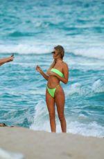 JAIDA HUSTON in Bikini at a Beach in Miami 12/18/2019