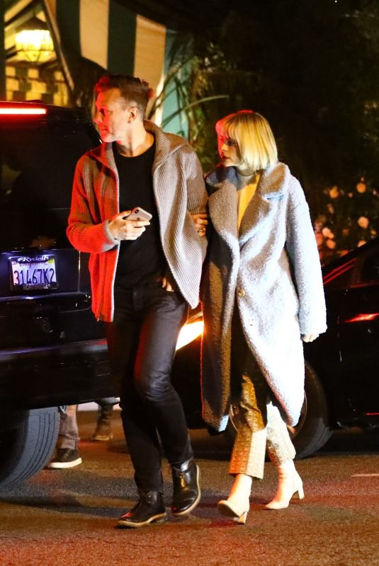 JAIME KING and Kyle Newman Out for Dinner in West Hollywood 12/21/2019