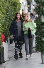 JANICE and SAVANNAH DICKINSON Out in Beverly Hills 12/20/2019