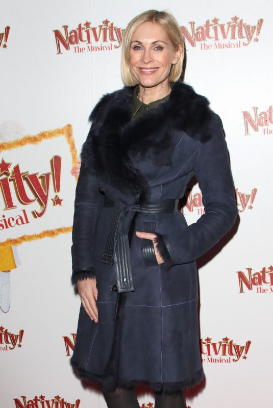 JENNI FALCONER at Nativity! The Musical Press Night Performance in London 12/12/2019