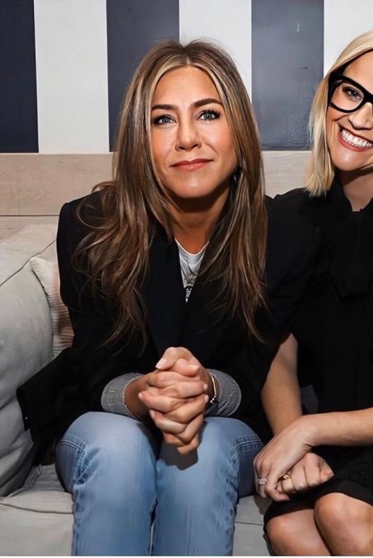 JENNIFER ANISTON and REESE WITHERSPOON – Instagram Photo 12/09/2019