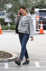 JENNIFER GARNER Arrives at Brentwood Country Mart 12/02/2019