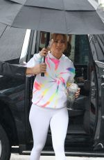 JENNIFER LOPEZ Arrives at a Gym in Miami 12/19/2019