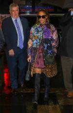 JENNIFER LOPEZ Arrives at Tonight Show Starring Jimmy Fallon in New York 12/02/2019