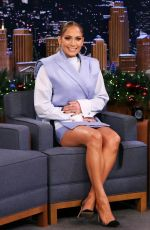 JENNIFER LOPEZ at Tonight Show Starring Jimmy Fallon 12/05/2019