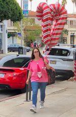 JENNIFER LOVE HEWITT Out Shopping in Santa Monica 12/18/2019
