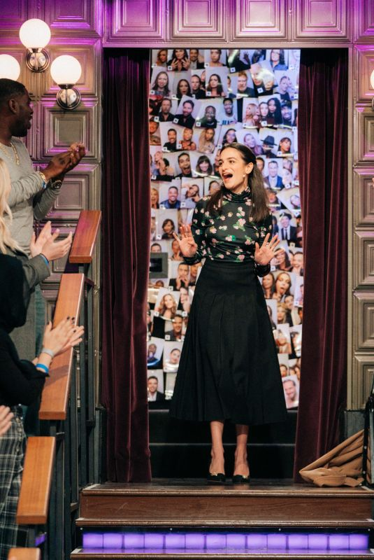 JENNY SLATE at Late Late Show with James Corden 12/17/2019