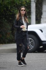 JESSICA BIEL Out in Los Angeles 12/03/2019
