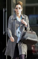 JESSICA BIEL Out Shopping in LOs Angeles 12/17/2019