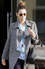 JESSICA BIEL Shows off Her Wedding Ring Out in Los Angeles 12/17/2019