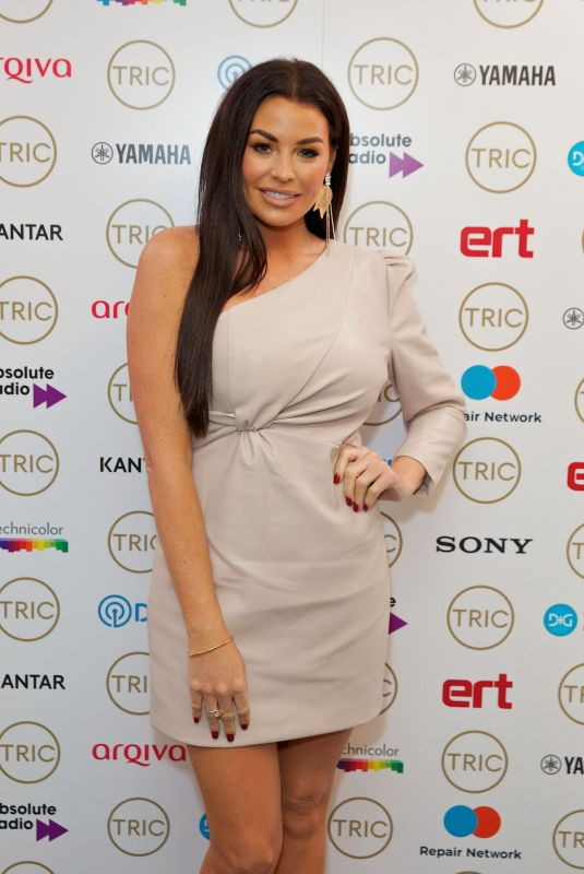 JESSICA WRIGHT at Tric Christmas Charity Lunch in London 12/10/2019