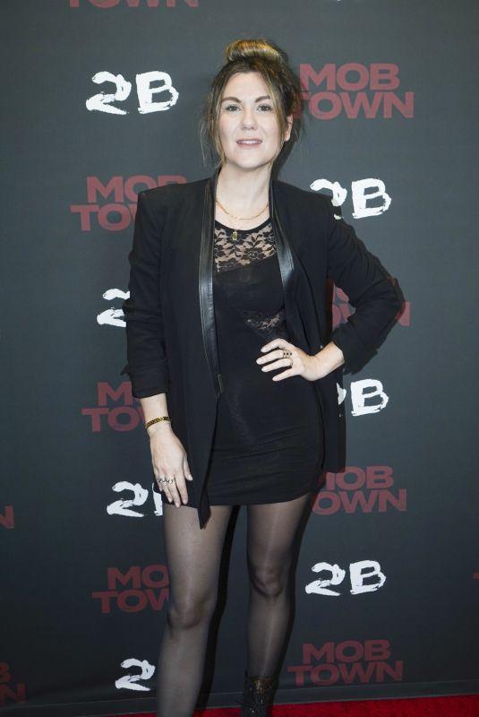 JORDAN YORN at Mob Town Premiere in Los Angeles 12/13/2019