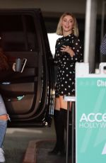 JULIANNE HOUGH Arrives at Access Hollywood in Los Angeles 12/06/2019