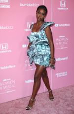 JUSTINE SKYE at Billboard Women in Music 2019 in Los Angeles 12/12/2019